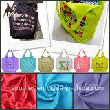 Tela de Taslon do nylon de 100% para a tela do saco e a tela do vestuário