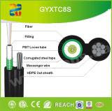 Ocho Opgw de cable de fibra óptica (GYFTC8S)