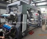 Четыре цвета нетканого материала из рулона в рулон ткани Flexographic печатной машины