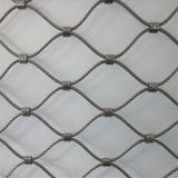 Maglia piena del cavo del puntale della balaustra dell'acciaio inossidabile