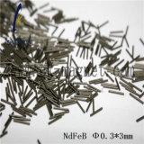 &Phi del grado del magnete di Ck-258 NdFeB; 0.3*3mm