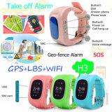 Les enfants Smart GPS Tracking avec base de données WiFi (H3)