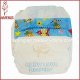 Breathable Backsheet Diaper für Baby mit pp. Frontal Tape