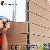 中国のプレハブの家屋外WPCのクラッディングパネル