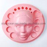 Rosa PS de material plástico de la bandeja de la formación de vacío para máscara