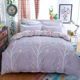 De goedkope Reeks Van uitstekende kwaliteit van Bedsheet van het Huis van de Polyester Afgedrukte