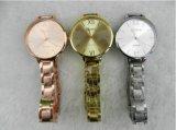 Yxl-802 Banheira e barato Mulher Vendas de luxo da marca Ouro Fino Banda de grade precisa Movimento de quartzo Lady Fashion assistir