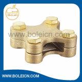 Guarnición cuadrada de cobre amarillo de la energía de la abrazadera de la cinta de la aleación de cobre hecha en el ODM del OEM de China disponible
