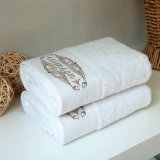Levering voor doorverkoop van de Handdoek van de Luxe van het katoenen Hotel van de Badhanddoek de Vastgestelde
