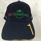 Chapéu e tampão personalizados do esporte do basebol do bordado do projeto