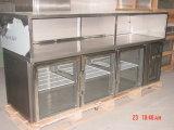 Porta de 3 vidros sob o refrigerador contrário (GN3100TNG)