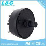 Arrêt du moteur/L/M/H 4 Positionner le commutateur rotatif