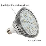 O diodo emissor de luz cheio do preço de fábrica do espetro de Huaao cresce a luz de bulbo