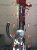 Machine de test de perforation à l'impact du casque de moto / casque de vélo