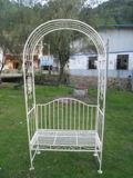 Qualitäts-bearbeitetes Eisen-Garten-Bogen für Garten-Möbel