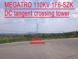 Torretta dell'incrocio di tangente di CC di Megatro 110kv 1f6-Szk