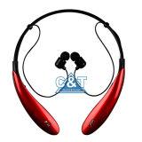 Bluetoothのヘッドホーンの引き込み式のEarbudsのNeckbandのiPhoneのアンドロイドの携帯電話のためのMicが付いている無線ヘッドセットのスポーツのSweatproofのイヤホーン