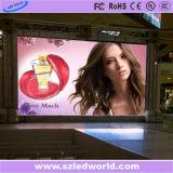 Exterior / Interior Die Casting fijos de alquiler a todo color de la pantalla de visualización del panel LED para hacer publicidad (P5, P10)