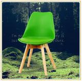 كرسي تثبيت مع خضراء [بو] تغطية و [ووودن لغ] أصليّ
