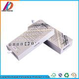 Boîte-cadeau blanche de tiroir de carton glissant le cadre de empaquetage avec la garniture intérieure d'EVA