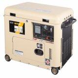 Luchtgekoelde 2 - 7kw draagbare Stille Diesel van het Type Generator (DG7250LN)