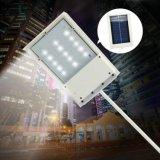 Lampada di soccorso Luminaria della lampada dei 15 LED del comitato alimentato LED di illuminazione stradale del giardino del percorso della parete esterna solare solare del punto