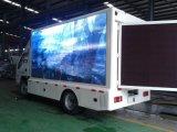 Foton 4X2のLEDスクリーンが付いている屋外の移動式掲示板のトラック