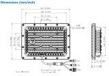 Detector de Dahua detección continua de 24 horas Sistema de Radar de análisis en tiempo real (PFM861-B300)