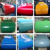 Lamiera di acciaio galvanizzata ricoperta colore in bobine /PPGI per tetto