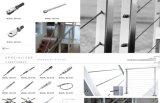 Bloqueos del acero inoxidable/bloqueos de puerta de cristal