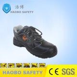 Pattini di cuoio di protezione del lavoro di sicurezza con la punta d'acciaio