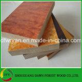 MDF laminado da placa/melamina do MDF para a mobília