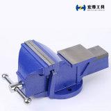 3-дюймовый миниатюрный верстачные тиски с синими Hammertone
