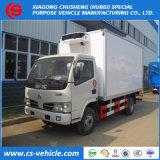 Cámara fría refrigerada 3ton Van Truck de Dongfeng Foton 4X2