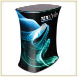 Compteur rectangulaire de podiume de tissu de tension