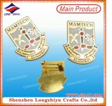 Bonne qualité et beau Pin d'insigne en métal de modèle