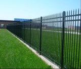 3rails 창 상단 강철 말뚝 울타리 또는 장식적인 철 담 또는 검술