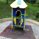 Playground&#160 antidérapage ; Rubber&#160 ; Couvre de tuiles le plancher en caoutchouc de /Outdoor/plancher en caoutchouc d'enfants
