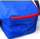 カスタマイズされた昼食袋のナイロンハンドルのピクニック袋190dオックスフォードのクーラー袋