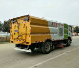 6 Roues Isuzu Sweeper 6000L Route Chariot de balayage et nettoyage
