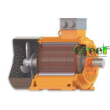 15kw 300tr/min, 3 générateur de phase magnétique AC générateur magnétique permanent, le vent de l'eau à utiliser avec un régime faible