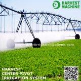 Máquina de centro del sistema de irrigación del pivote de la cosecha