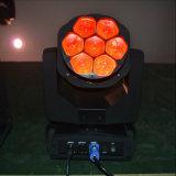 7* 15W RGBW LED 소형 급상승 꿀벌 눈 이동하는 맨 위 빛
