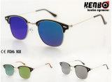 Óculos de sol novos do metal do projeto com Lenskm15238 liso
