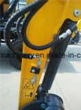China-grabender Maschine MiniCralwer Exkavator mit geschlossener Kabine