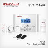 음성과 내부통신기 최고 경보망 (YL-007M2C)를 가진 최신 GSM 경보망