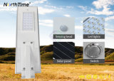 Infrared Motion Sensor All-in-one LED Street Light with Solar Panel