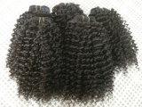 человеческие волосы 100%Unprocessed Peruvian Virgin для чернокожих женщин