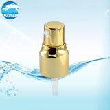 Pompa crema di alluminio dorata per l'estetica