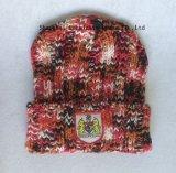 Шлем & шарф способа 100%Acrylic с сплетенной заплатой для клуба футбола (JYB359)
